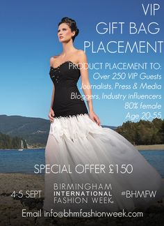 VIP Gift Bag Placement opportunities at BHMFW 2015! Product placement to VIP Guests, Press and Media. Find out more and register here: http://www.bhmfashionweek.com/register/sponsors/ #bhmfw #runway #VIP