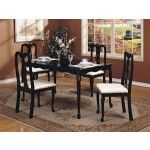 ACME Furniture - Queen Anne 5 Piece Dining Set - 6006-5set   SPECIAL PRICE: $404.00