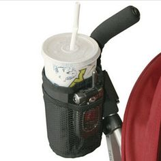 Waterproof Cup Holder With Storage For Baby Stroller