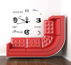 Fun sofa (and fun setting)!