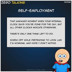 Self-employment #ZeroTalking