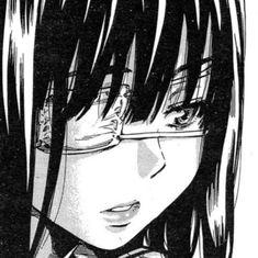 Manga Girl, Manga Anime, Anime Art Girl, Gothic Anime, Dark Anime, Aesthetic Art, Aesthetic Anime, Anime Monochrome, Japanese Horror
