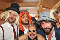 vintage photo booth bus volkswagen bus van pulmino wedding party