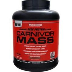 You get the best Value on best quality product! Buy 1 - 2 - 3 - 4 – 5 or more items & save more Ship domestic & international! MUSCLEMEDS Carnivor Mass  in 5.6 & 5.7 lbs buy 1 - 2 - 3 or more items & save  #MUSCLEMEDS