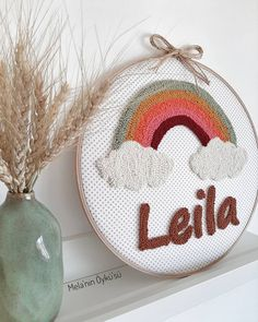 Embroidery Hoop Crafts, Wedding Embroidery, Embroidery Flowers Pattern, Embroidery Sampler, Learn Embroidery, Hand Embroidery Stitches, Flower Patterns, Punch Needle Kits, Punch Needle Patterns