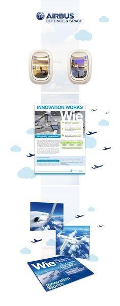 Printdesign für die Marke Cassidian (Airbus) #printdesign