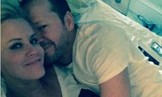 Jenny McCarthy shares snap of Donnie Wahlberg snuggling on honeymoon