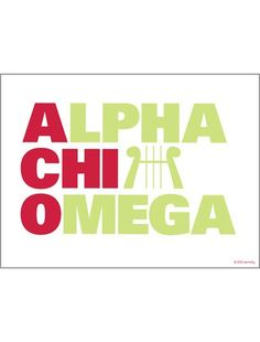 Dormify Exclusive: Alpha Chi Omega Print http://www.dormify.com/greek/alpha-chi-omega/alpha-chi-omega-stacked-print