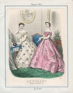 Le Follet March 1866 LAPL
