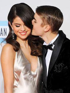 Justin Bieber + Selena Gomez #celebritycandids