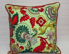 Designer Embroidered Hand made Cushion Cover from Vintage Handicrafts