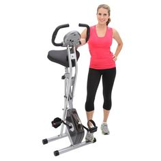 Indoor Exercise Bike Cycling Cardio Workout Cycle Gym Upright Stationary Trainer #ExerpeuticCycle