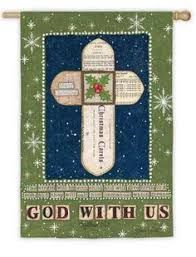 Image result for christian christmas house flags