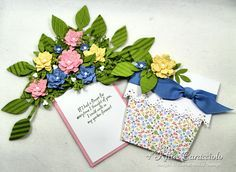 Flower Pot Pocket Open by kittie747 - Cards and Paper Crafts at Splitcoaststampers