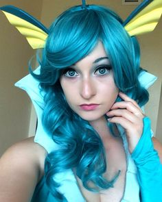 Vaporeon Pokemon Cosplay                                                                                                                                                     More