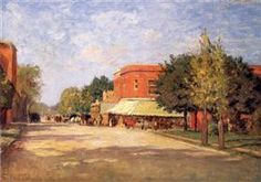 Street Scene - T. C. Steele