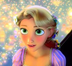 Rapunzel.  Favorite Disney Princess