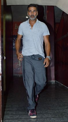 Akshay Kumar spotted outside PVR, Juhu in Mumbai. #Bollywood #Fashion #Style #Handsome