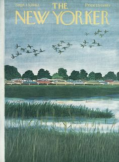 The New Yorker - Saturday, September 15, 1962 - Issue # 1961 - Vol. 38 - N° 30 - Cover by : Ilonka Karasz