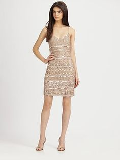 Beaded Dress - Saks.com i wish...