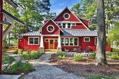 Hausanstrich Farbe - wäre eine rote Hausfassade etwas für Sie? - http://freshideen.com/architektur/hausanstrich-farbe-hausfassade.html