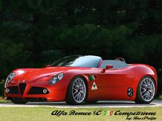 #AlfaRomeo 8C 750 Competizione