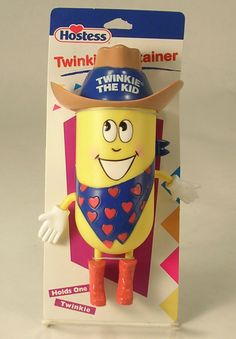 Hostess Twinkie The Kid Twinkie Container Holds 1