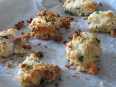 mamacook: Garlic and Herb Chicken Nugget Recipe for babies and toddlers