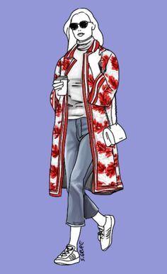 Ein Couture Mantel kaschiert den Bauch und ist besonders für O-Figurtypen ein wahrer Zauberkünstler. Warum das so ist, erfahren Sie jetzt auf www.modefluesterin.de - Lesen!