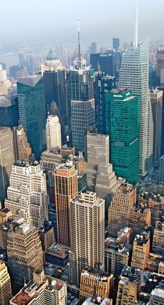 NYC. View from Empire State Building, Manhattan