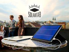 Solartab - The Premium Solar Charger by Solartab