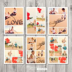 Instagram Template Psd Photo template, storyboard