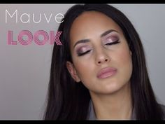 Mauve Valentines Look- Using Morphe 35T palette - YouTube