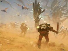 Space Marines vs Tyranids (Warhammer 40k)