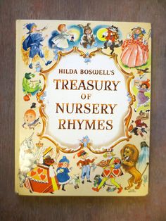 Hilda Boswell S Treasury Of Nursery Rhymes 1989 Ilrated By Vintage Childrens Book