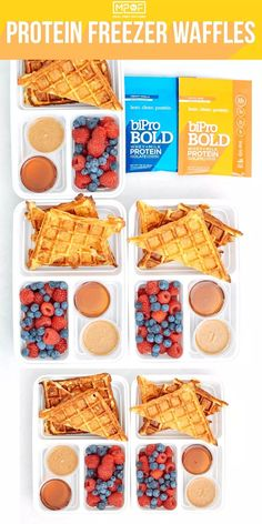 Protein Freezer Waffles - Meal Prep on Fleek™ These protein freezer waffles are so easy and delicious! This recipe is made with only six ingredients and is high in protein. Double or triple the batch and keep them in the freezer for upcoming weeks. Waffle Recipes, Lunch Recipes, Breakfast Recipes, Dessert Recipes, Dinner Recipes, Breakfast Ideas, Healthy Recipes, Clean Breakfast, Easy Recipes