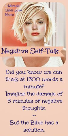 We can fill our minds with 6500 negative, untrue, faith-killing words in 5 minutes. That's why Scripture tells us to take every thought captive.