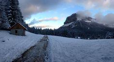 Les premières neiges en Savoie. www.mymagicmap.com