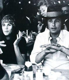 Ali MacGraw and Alain Delon, Vogue Paris October 1970