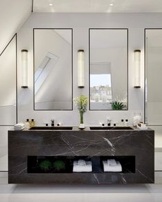 Find the perfect lighting fixtures  for your luxury bathroom. Check more at luxxu.net