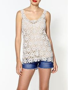 Collective Concepts Crochet Tank