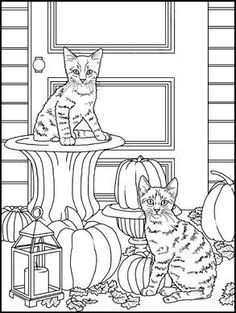 Blank Coloring Pages, Dog Coloring Page, Free Coloring Sheets, Coloring For Kids, Coloring Books, Wood Burning Patterns, Cat Colors, Colorful Pictures, Art Forms