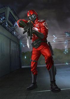 Crimson Guard trooper
