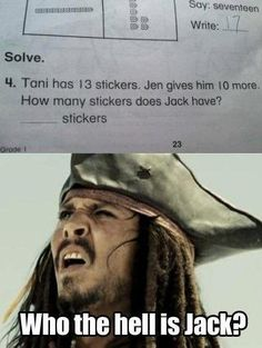 This is why kids hate math.......