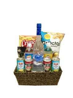 The Grey Goose Gift Basket Is Available For Same Day Delivery In Las Vegas NV