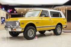 1971 Chevrolet Blazer K5 4x4 #classictrucks