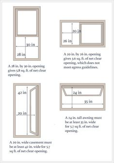 What Are Standard Window Sizes For Replacement Windows