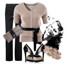 """""""Untitled"""" by puf1 ❤ liked on Polyvore featuring Diane Von Furstenberg, H&M and Ippolita"""