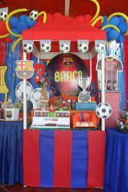 Barcelona Fc Logo, Barcelona Party, Messi Soccer, Soccer Party, Minions, Birthdays, Football, Decoration, Soccer Birthday Parties