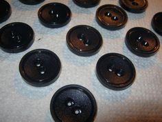 20 Stück Mantelknöpfe,Blau,Durchmesser ca.28 mm,Neu,Lübecker Knopfmanufaktur von Knopfshop auf Etsy